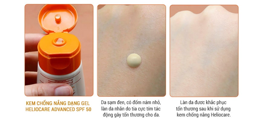 Công dụng Heliocare SPF 50