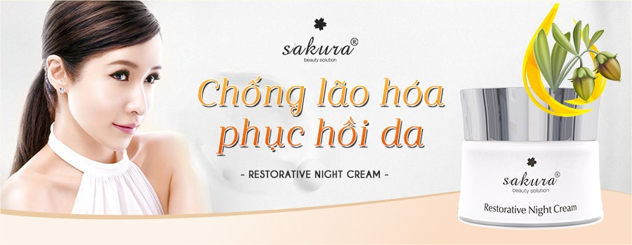 Sakura Restorative Night Cream