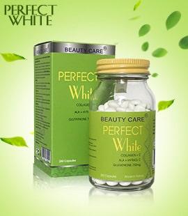 Viên uống dưỡng trắng da trị nám Perfect White