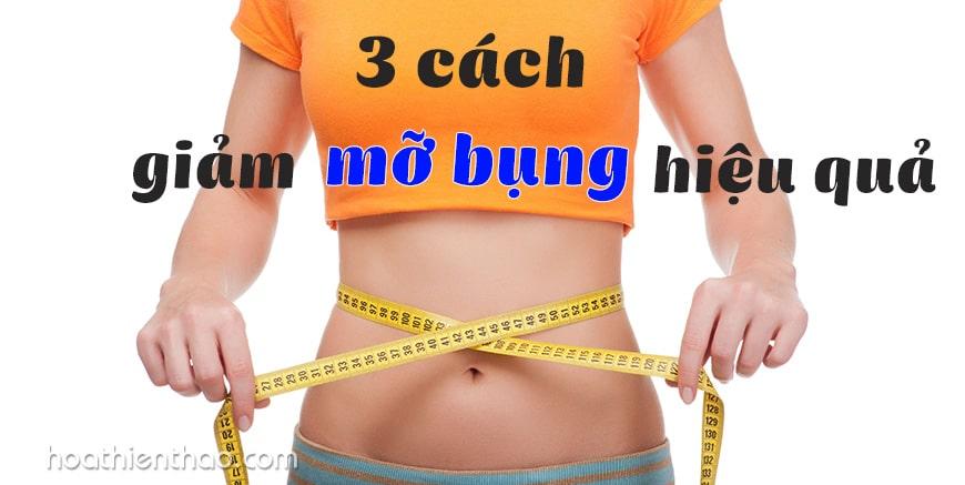 3 cách giảm mỡ bụng dưới hiệu quả tại nhà