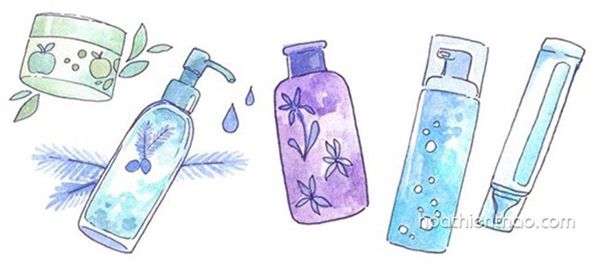 ampoule dùng trước hay sau serum