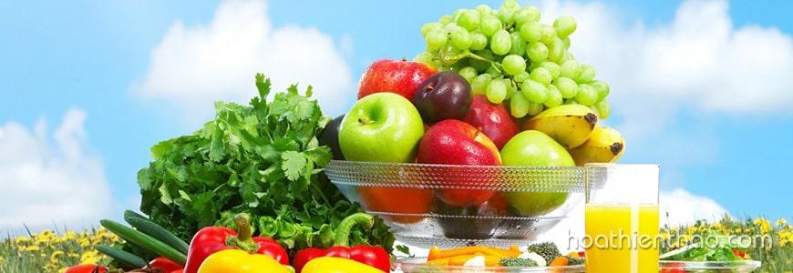 Ăn nhiều rau củ quả chứa vitamin tốt cho da