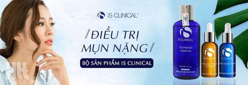 Bộ sản phẩm trị mụn nặng iS Clinical