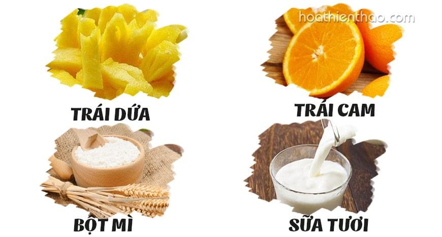 cách làm kem tắm trắng body