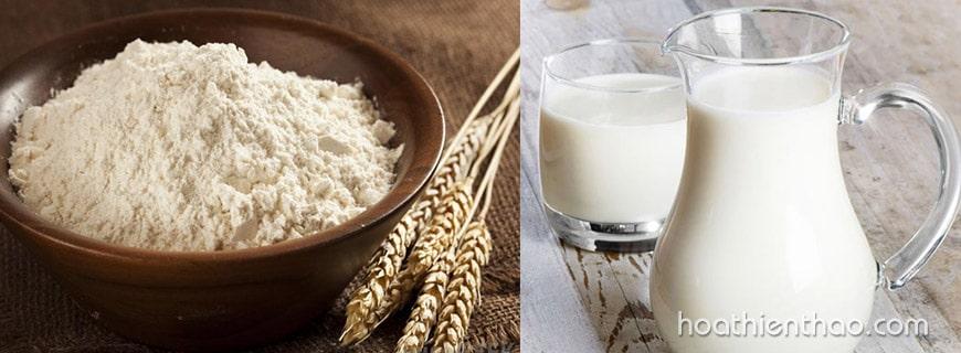 Cách làm trắng da toàn thân tại nhà với sữa tươi