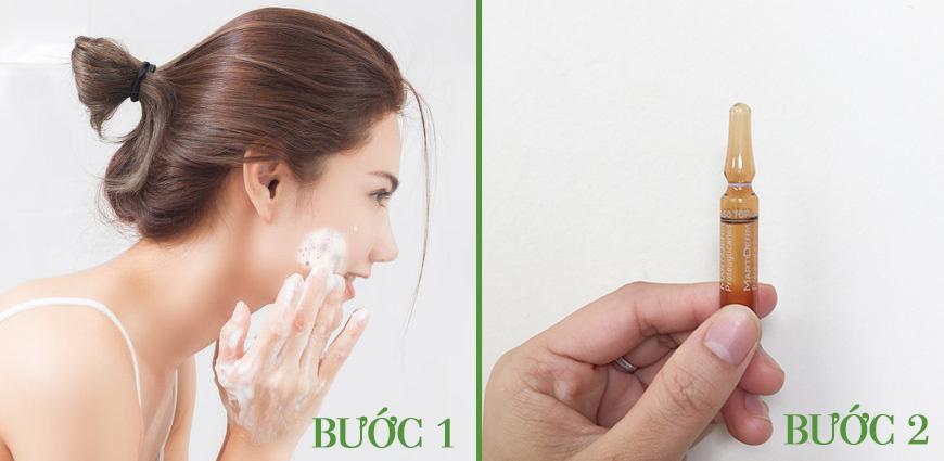 Cách sử dụng serum dưỡng ẩm cho da khô MartiDerm