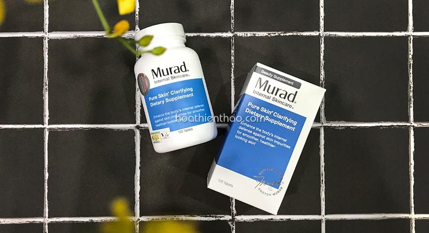 Cách sử dụng viên uống trị mụn Murad hiệu quả vượt trội