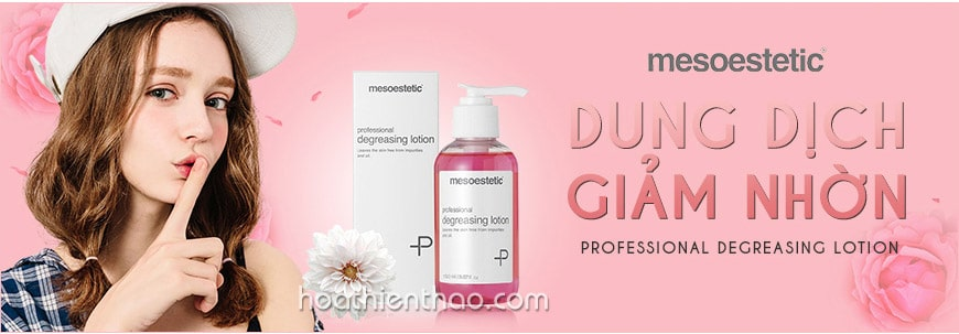 Dung dịch giảm nhờn Mesoestetic Professional Degreasing Lotion