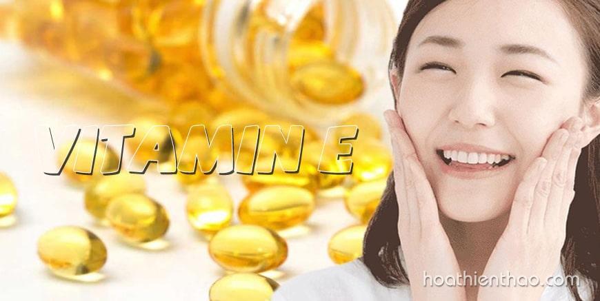Dùng vitamin E bôi mặt như thế nào?