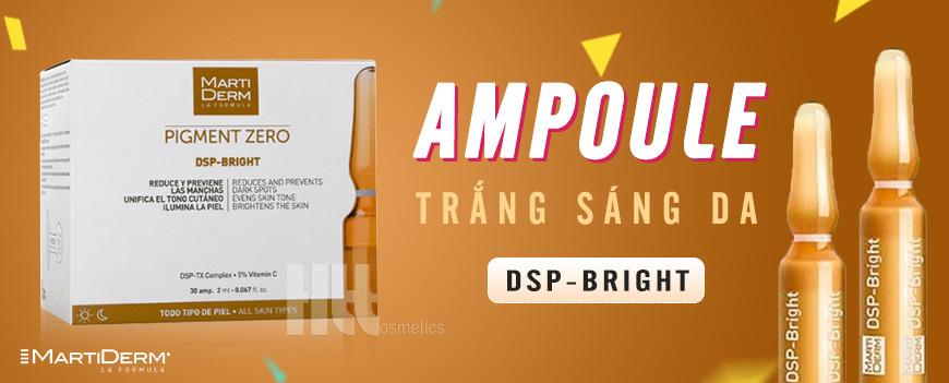 Tinh chất trắng sáng da MartiDerm DSP-Bright Ampoule