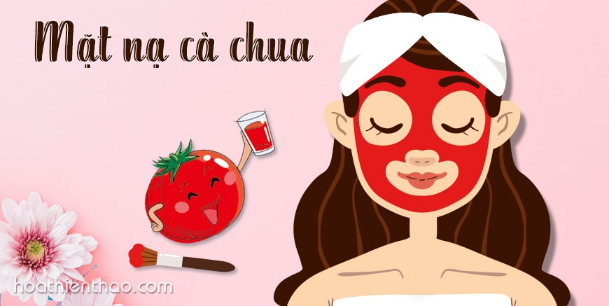 Công thức mặt nạ cà chua làm sáng da (Phần 1)