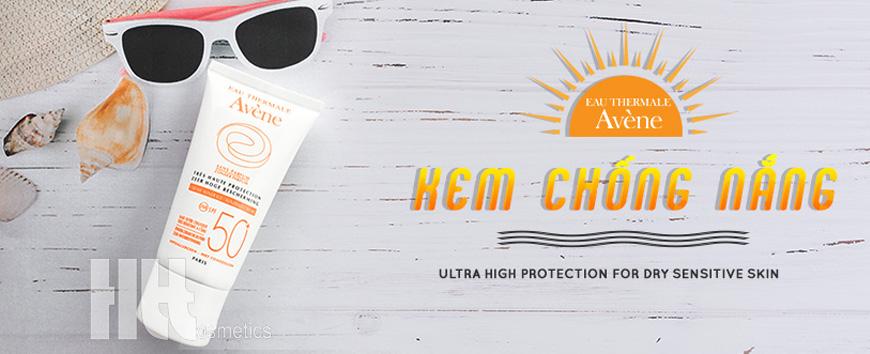 Kem chống nắng Avene an toàn cho da nhạy cảm