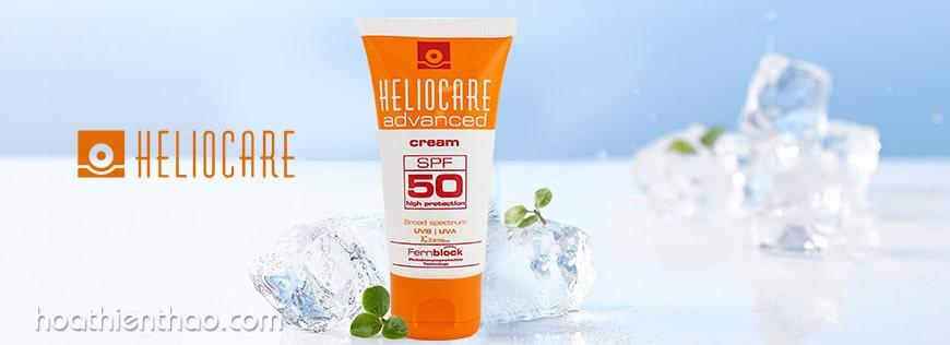 Kem chống nắng cho da dầu và mụn Heliocare Cream SPF 50