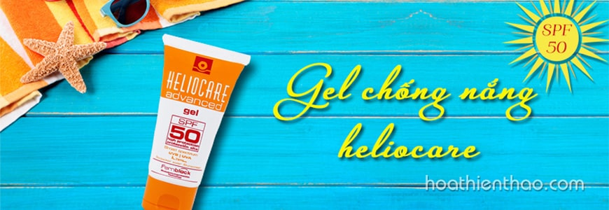 Kem chống nắng Heliocare dạng gel