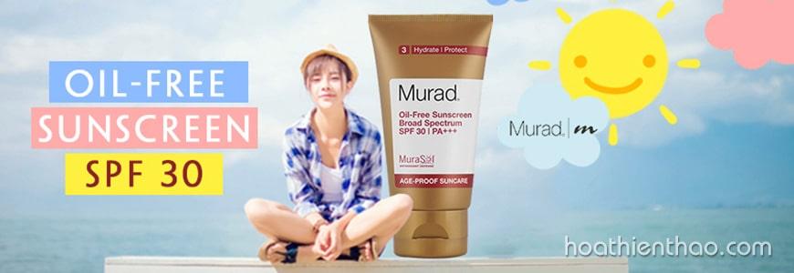 Kem chống nắng không dầu Murad Oil-Free Sunscreen SPF 30