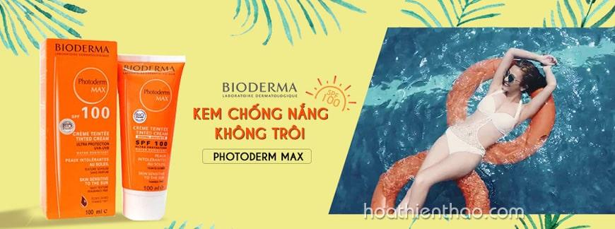 Kem chống nắng không trôi Bioderma Photoderm Max SPF 100