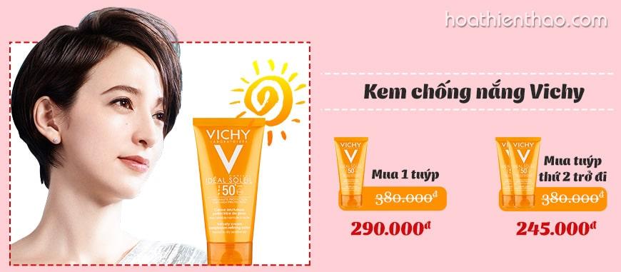 Kem chống nắng Vichy Idéal Soleil SPF 50+