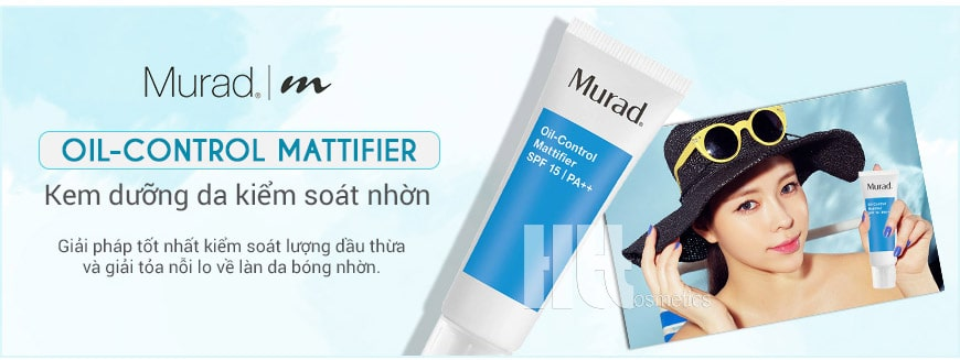 Kem kiểm soát nhờn Murad Oil-Control Mattifier SPF 15
