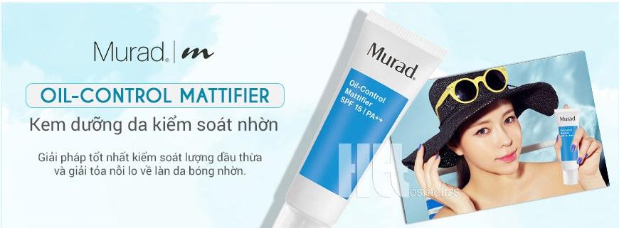 kem kiểm soát nhờn Murad Oil-control Mattifier SPF15