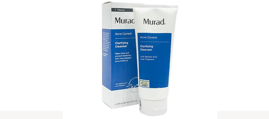 Khắc phục những sai lầm chăm sóc da mùa hè cùng với Murad Clarifying Cleanser