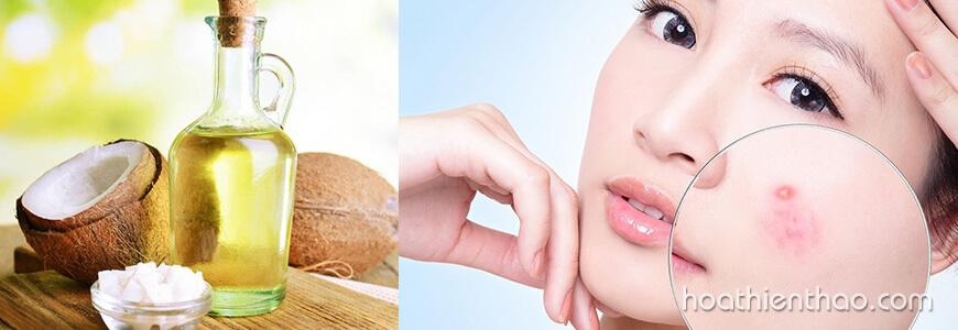 Tác dụng của dầu dừa đối với da mặt 2