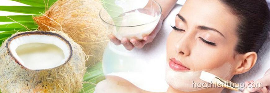 Tác dụng của dầu dừa đối với da mặt 3