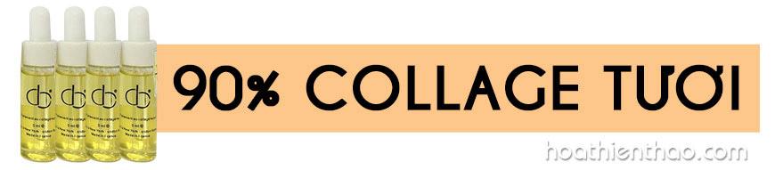 Bật mí bí mật trẻ hoá da từ Tinh chất collagen tươi CD 1