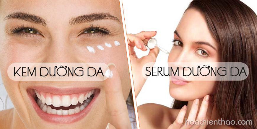 5 Quy tắc khi kết hợp kem dưỡng da và serum dưỡng da