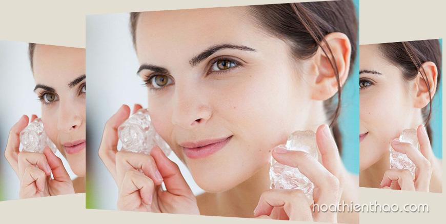 Học ngay cách trị mụn bằng nước đá cực hiệu quả ngay tại nhà