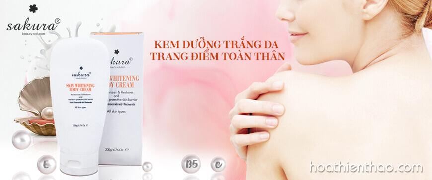 Review kem dưỡng trắng da toàn thân - HoaThienThao