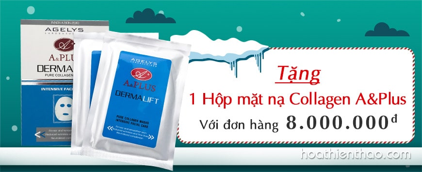 Mặt nạ Collagen tươi 90% A&Plus Pure Collagen Mask A022