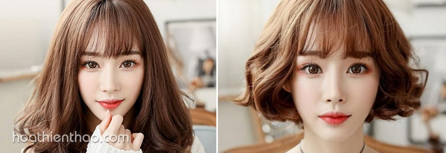 Màu tóc nhuộm hạt dẻ luôn phù hợp cho các nàng công sở