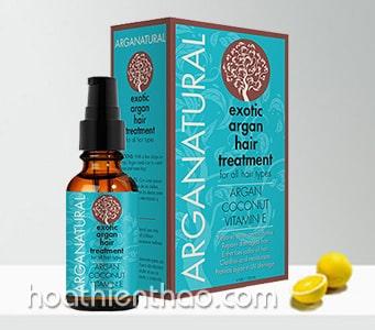 Tinh dầu dưỡng phục hồi tóc hư tổn Arganatural