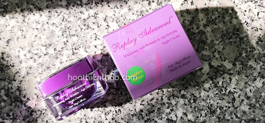 Replay Advanced Whitening Anti Wrinkle Age Defying Night Cream