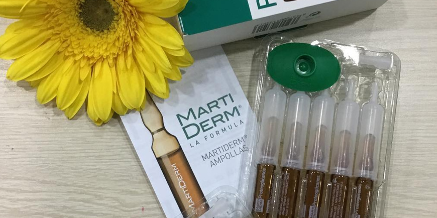 Review serum dưỡng ẩm cho da khô MartiDerm