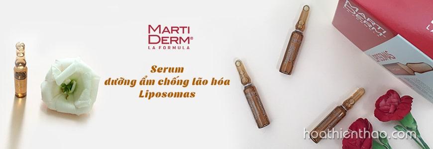 Serum dưỡng ẩm chống lão hóa MartDerm Liposomas