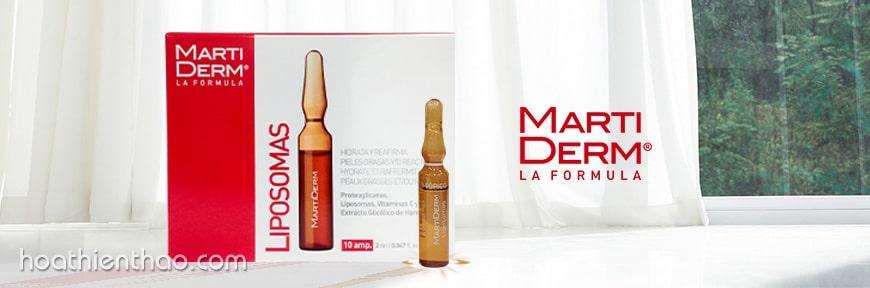 serum dưỡng ẩm chống lão hóa MartiDerm Liposomas