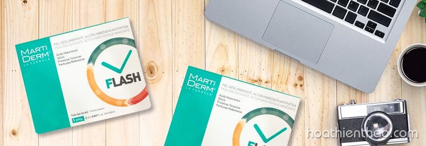 Serum dưỡng ẩm MartiDerm có thành phần Axit Hyaluronic