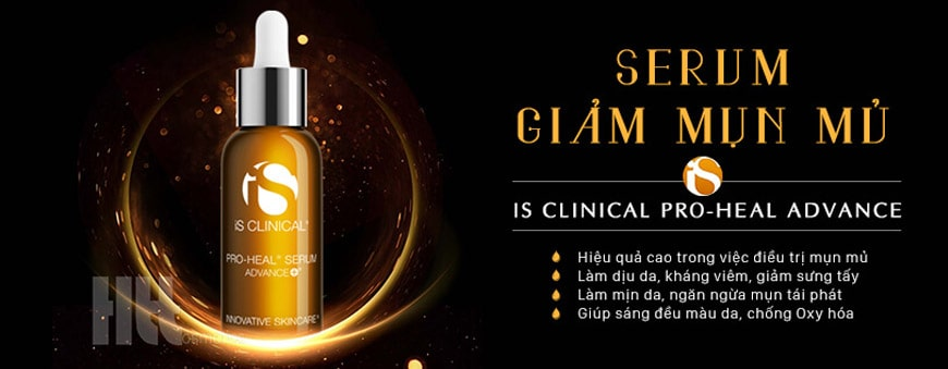 Serum Trị Mụn Mủ iS Clinical Pro-Heal Advanced