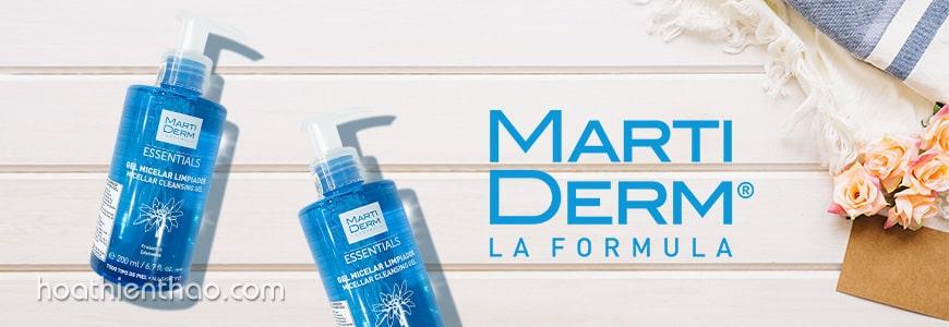 Sữa rửa mặt dạng gel MartiDerm Micellar Cleansing