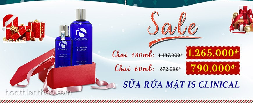 Sữa rửa mặt iS Clinical Cleansing Complex