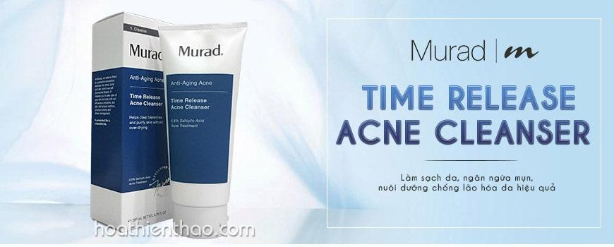 Sữa rửa mặt trị mụn chống lão hóa Murad