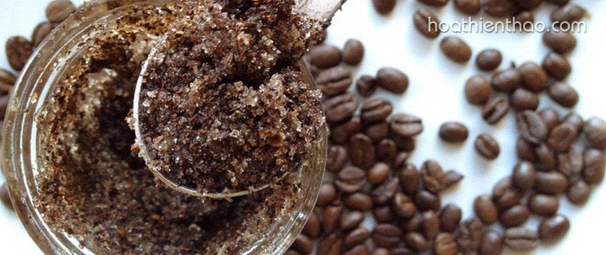 Tác dụng của bã cà phê