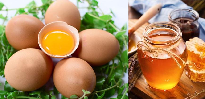 Tắm trắng da tại nhà cấp tốc bằng trứng gà và mật ong