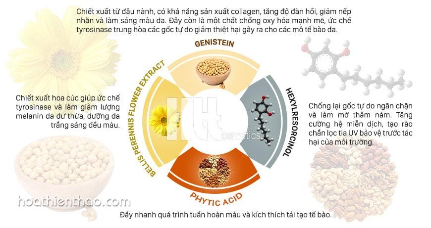 thành phần serum MartiDerm DSP illuminator