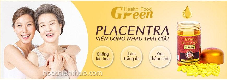Viên uống nhau thai cừu Green Health Food 3500 mg
