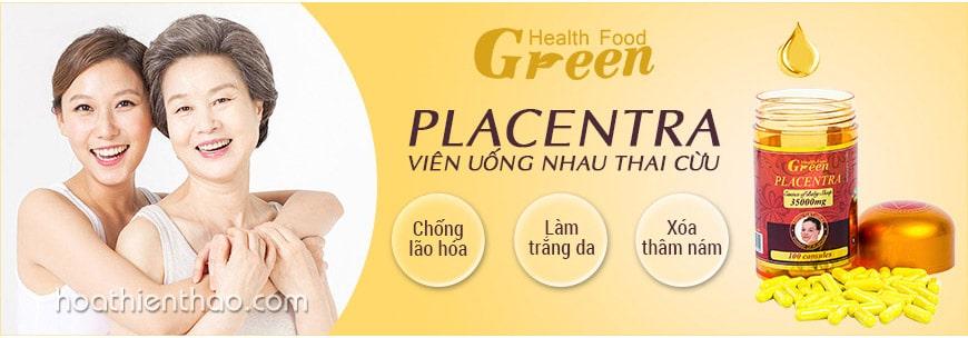 Viên uống nhau thai cừu Green Health Food