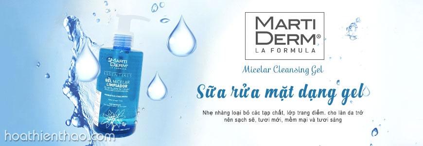 #1. Gel rửa mặt MartiDerm