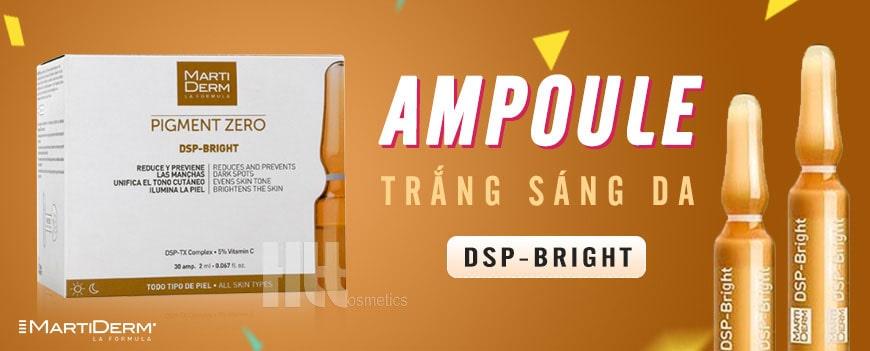 #5. Serum ampoule trắng da Martiderm DSP-Bright