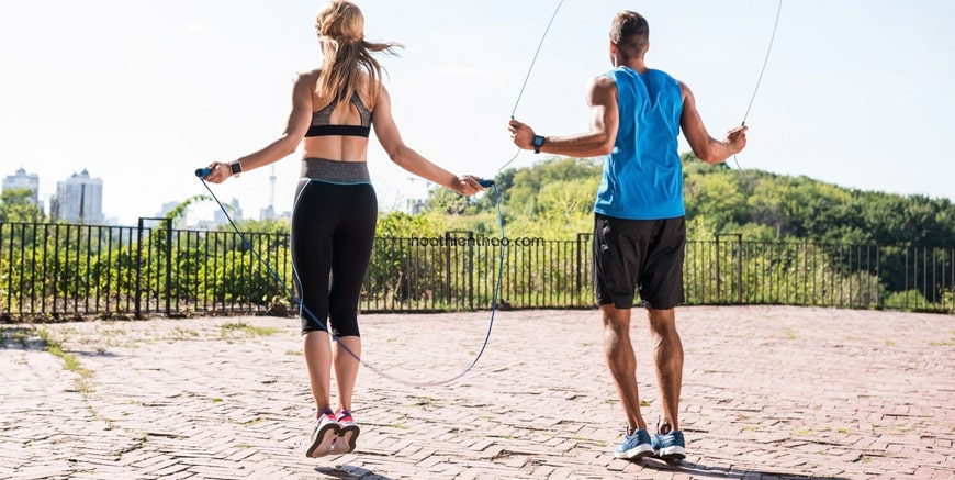 Bài tập 1: Nhảy dây hai chân